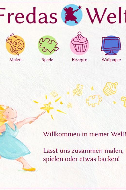 Fredas Welt - www.fredaswelt.de - Screenshot