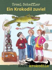 Die Hafenkrokodile - ein Krokodil zu viel - Cover