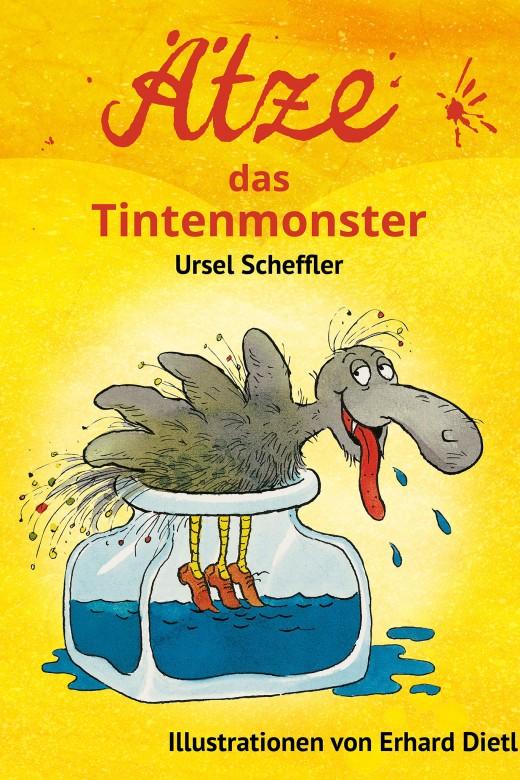 Ätze, das Tintenmonster - Cover