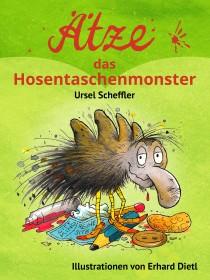 Ätze, das Hosentaschenmonster - Cover