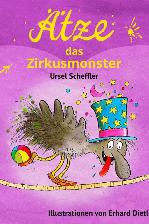 Ätze, das Zirkusmonster - Cover